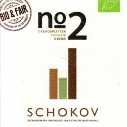 "Schokov No. 2 ""Pistazie & Kakaosplitter"" (AT-BIO-401)"