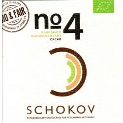 "Schokov No. 4 ""Kardamom & Mandelkrokant"" (AT-BIO-401)"