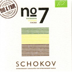 "Schokov No. 7 ""Rosmarin & Zitrone"" (AT-BIO-401)"