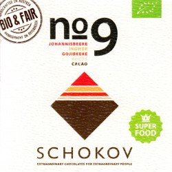 "Schokov No. 9 ""Superfoods"" 70% (AT-BIO-401)"