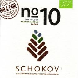 """Schokov No. 10 """"Wacholder & Tannennadeln"""" (AT-BIO-401)"""