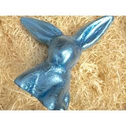 Großer Schlappohrhase Eisblau Vollmilch 22,5 cm