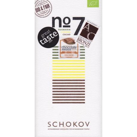 """Schokov No. 7 """"Rosmarin & Zitrone"""""""