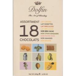 Dolfin Assortiment 18 Chocolats
