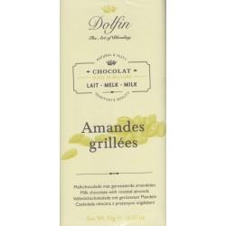 """Dolfin """"Amandes grillees"""" Milchschokolade"""