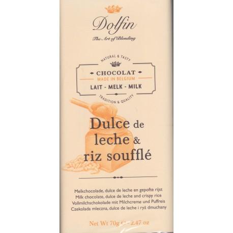"""Dolfin """"Dulce de leche riz soufflé"""""""