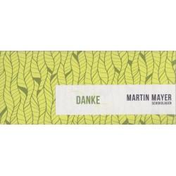 "Mayer ""Danke"" weiße Schokolade"