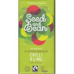 "Seed & Beans ""Chili-Lime"" 72%"