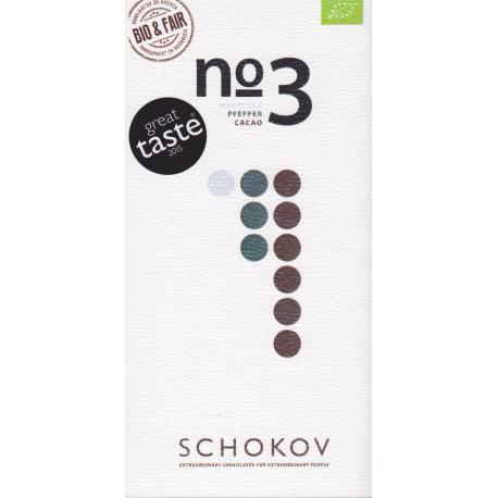 "Schokov No. 3 ""Fleur de Sel & Pfeffer"" 70%"