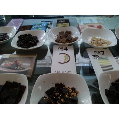 Schokoladeverkostung für 1 Person