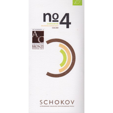 "Schokov No. 4 ""Kardamom & Mandelkrokant"""