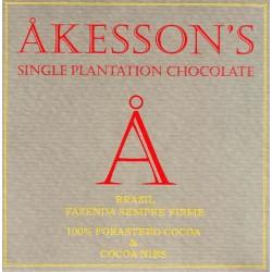 """Akessons """"Fazienda Siempre 100% Forastero Cocoa nibs"""""""