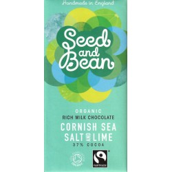 "Seed and Bean ""Cornish Sea Salt and Lime"""