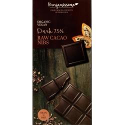 "Benjamissimo ""Dark 75% Raw Cacao Nibs"""