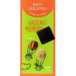 "Happy Benjamino ""Hazelnut Mulberry"""
