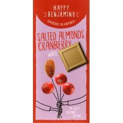"Happy Benjamino ""Salted Almonds Cranberry White"""