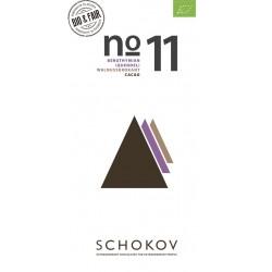 Schokov No. 11 70% mit Thymian und Walnusskrokant (AT-BIO-401)