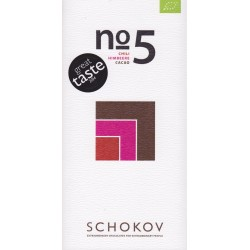 "Schokov No. 5 ""Himbeere & Chili"" 70%"