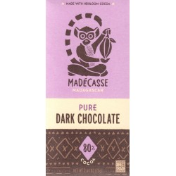 "Madécasse ""Pure - Dark Chocolate 80%"""