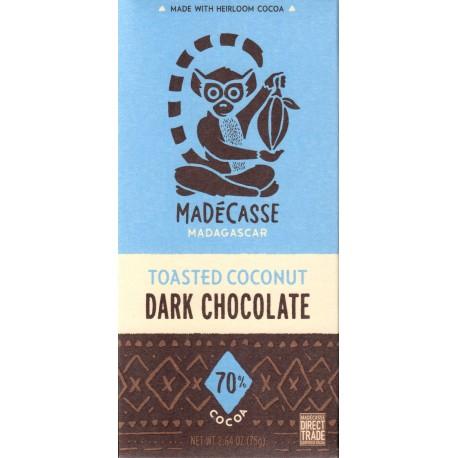 "Madécasse ""Toasted Coconut - Dark Chocolate 70%"""
