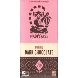 "Madécasse ""Pure - Dark Chocolate 80%"""
